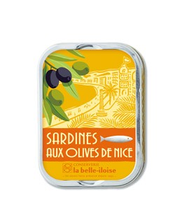 Sardines with Nice olives - La Belle-Iloise