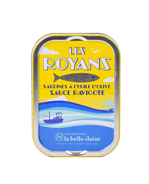 Royans sardines with highly-seasoned sauce - La Belle-Iloise