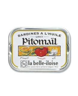 Sardines in Pitomail sauce - La Belle-Iloise