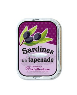 Sardines with tapenade - La Belle-Iloise