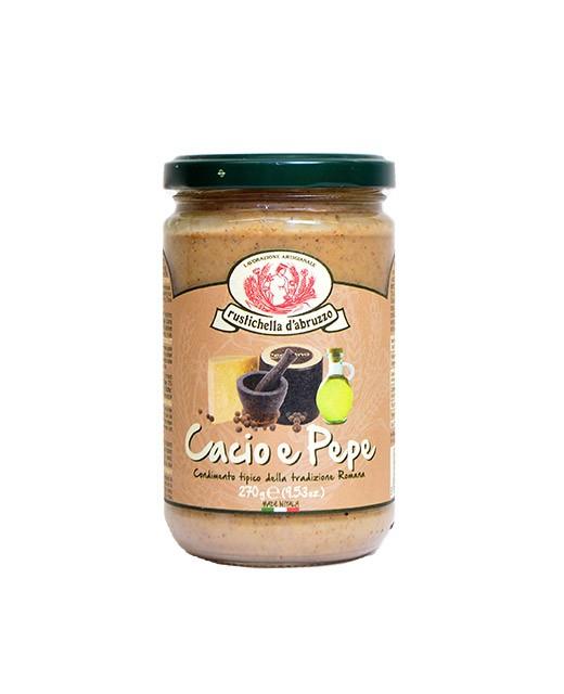 Cacio e Pepe sauce - Rustichella d'Abruzzo