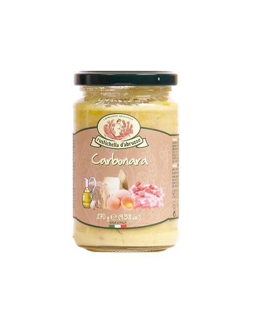 Carbonara sauce - Rustichella d'Abruzzo