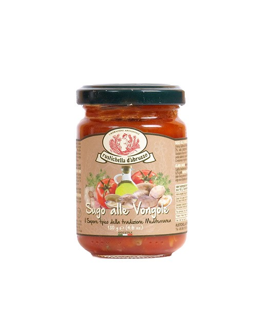 Tomato and clam sauce - Rustichella d'Abruzzo