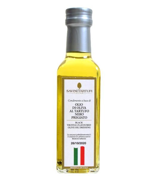 Olive oil with black truffle - Savini Tartufi
