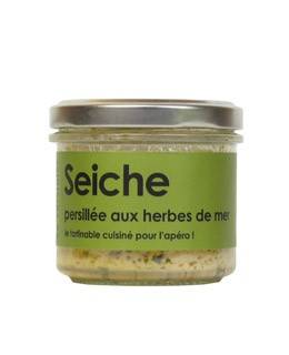 Cuttlefish with seagrass - L'Atelier du Cuisinier