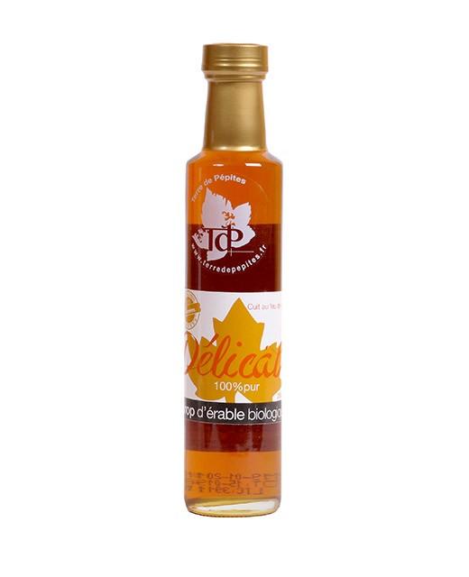 Organic maple syrup 100% pure - delicate - Terre de Pépites