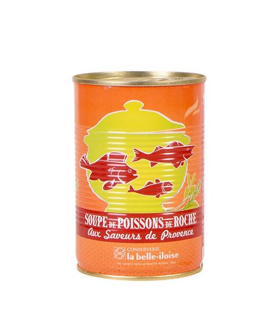 Rockfish soup with savours of Provence - La Belle-Iloise