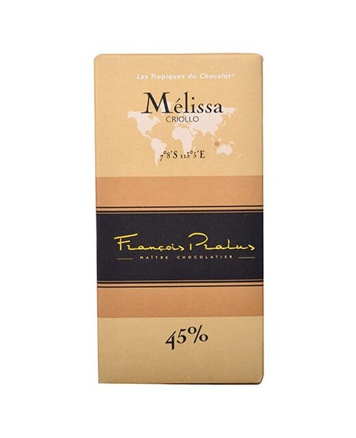Milk chocolate bar Mélissa - Pralus