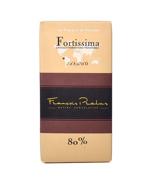 Dark chocolate bar Fortissima - Pralus