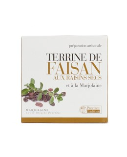Pheasant paté with raisins and marjoram - Provence Tradition