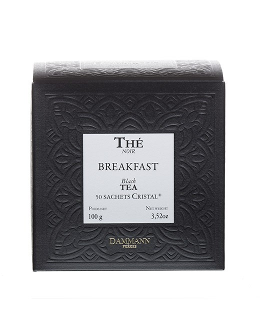 Breakfast tea- cristal sachets - Dammann Frères