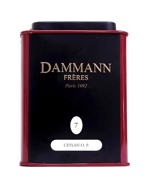 Tea Ceylon O.P. - Dammann Frères