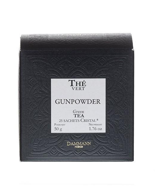 Gunpowder tea- cristal sachets - Dammann Frères