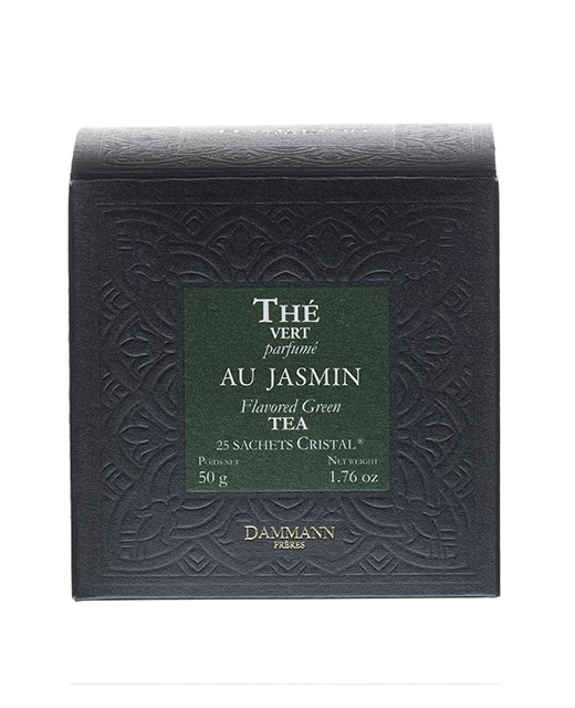 Jasmine Green Tea - cristal sachets - Dammann Frères