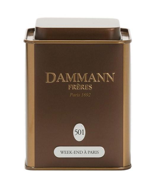 Oolong tea Week-end à Paris - Dammann Frères