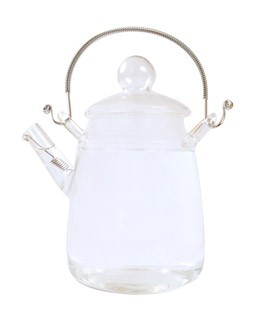 Glass Teapot for Flowering tea - Dammann Frères
