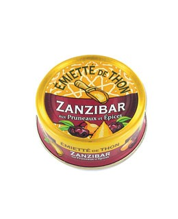 Tuna pieces - Zanzibar style with Spices and Prunes - La Belle-Iloise