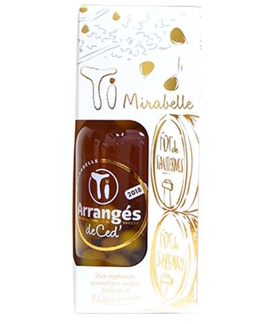 Flavoured rum - Mirabelle - Les Rhums de Ced'