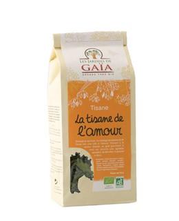 Herbal Tea La tisane de l'amour - Les Jardins de Gaïa