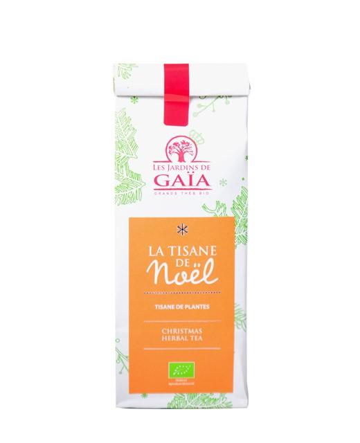 Christmas herbal tea - Les Jardins de Gaïa