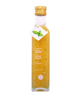 Pineapple pulp and mint Vinegar - Libeluile