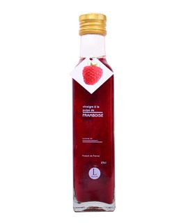 Raspberry pulp Vinegar - Libeluile