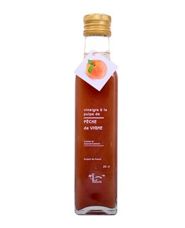 Vineyard peach pulp Vinegar - Libeluile
