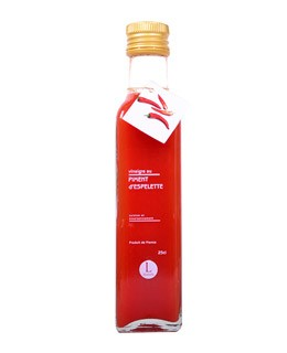 Espelette chili pepper pulp Vinegar - Libeluile