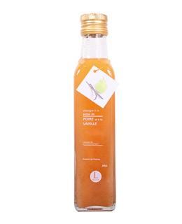 Vanilla and pear pulp Vinegar - Libeluile