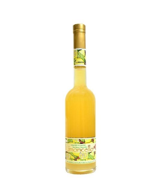 Organic limoncello -