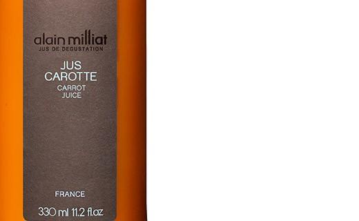Carrot juice - Alain Milliat