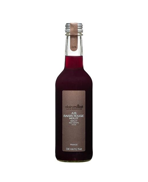 Merlot red grape juice