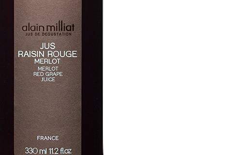 Merlot red grape juice - Alain Milliat