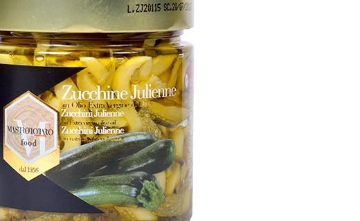 Courgette julienne - Mastrototaro