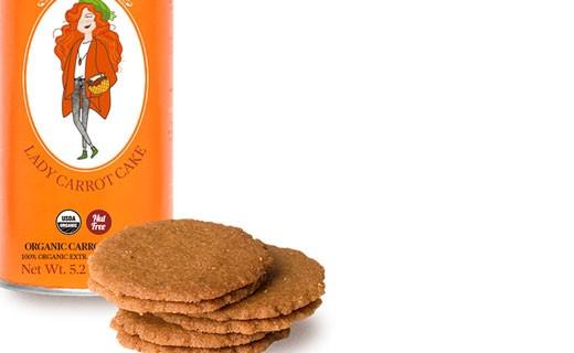 Organic biscuit - Carrot cake - Paul & Pippa