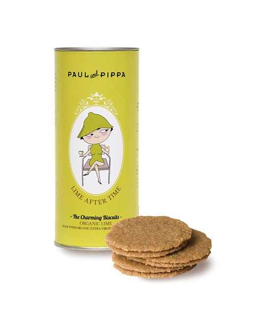 Biscuits with lime - organic - Paul & Pippa
