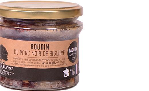 Blood sausage of Bigorre black pork - Padouen