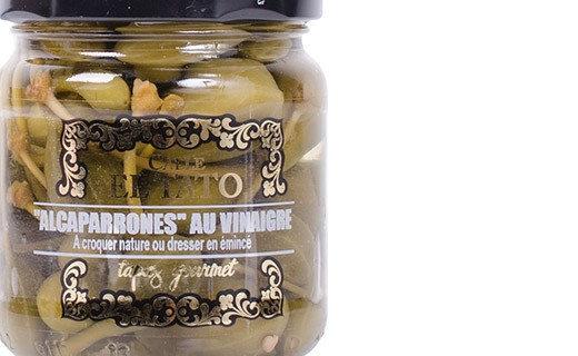 Alcaparrones Capers with their tails, in vinegar - Calle el Tato