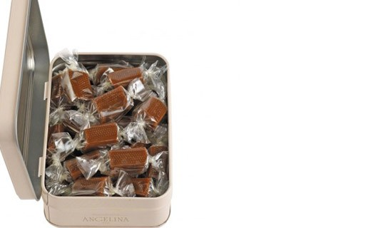 Salted butter caramels - Angelina
