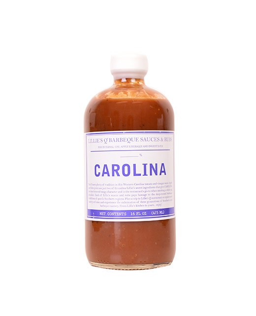 Carolina BBQ sauce - Western North Carolina Tomato - Lillie's Q