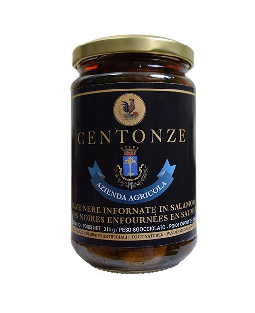 Nocellara del Belice black olives - Centonze
