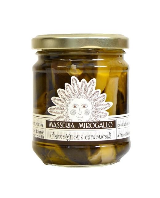 Mushrooms in olive oil - Masseria Mirogallo