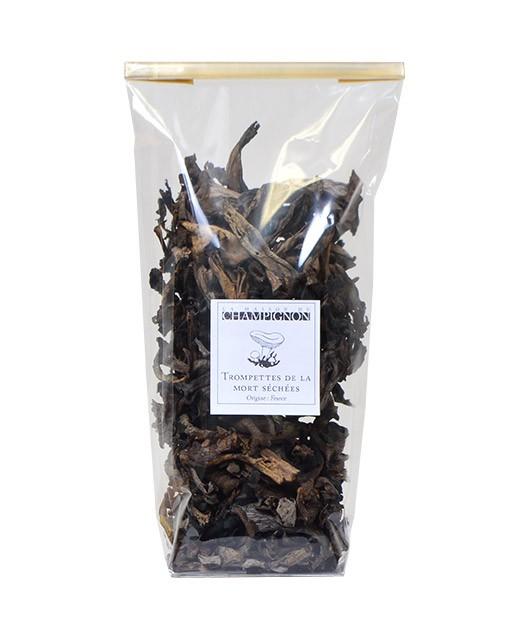 Black Trumpets (dried) - La Maison du Champignon