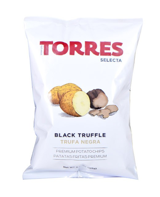 Gourmet crisps with truffles