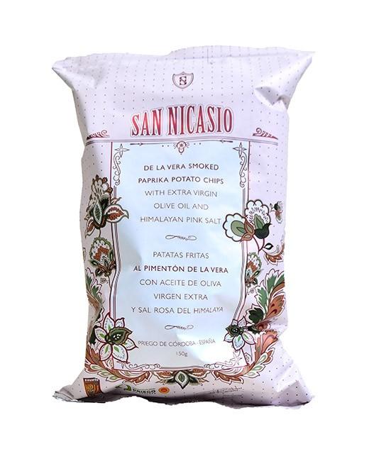 Extra virgin olive oil crisps - smoked paprika AOP (PDO) - San Nicasio