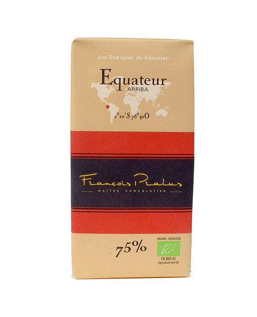 Dark Chocolate bar - Ecuador - organic - Pralus