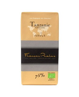 Dark Chocolate bar - Tanzania - organic - Pralus