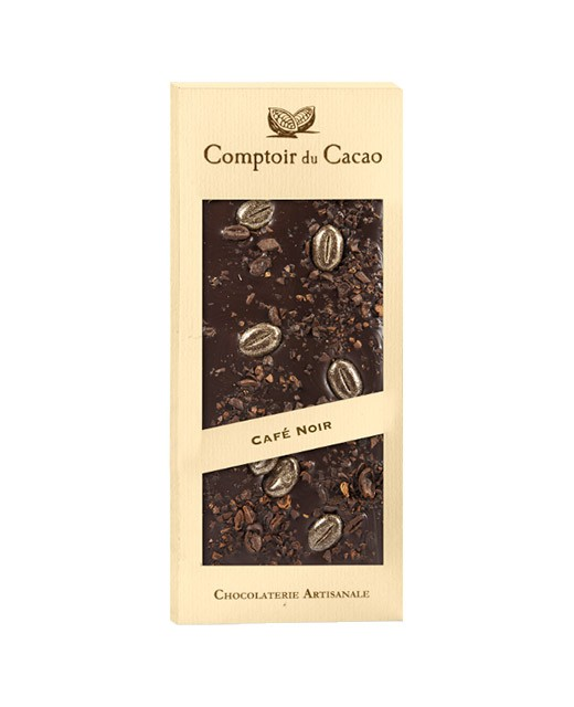 Dark chocolate tablet - Coffee - Comptoir du Cacao