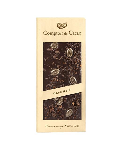Dark chocolate tablet - Coffee - Comptoir du Cacao
