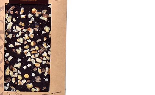 Dark chocolate - hazelnuts - organic - Bovetti